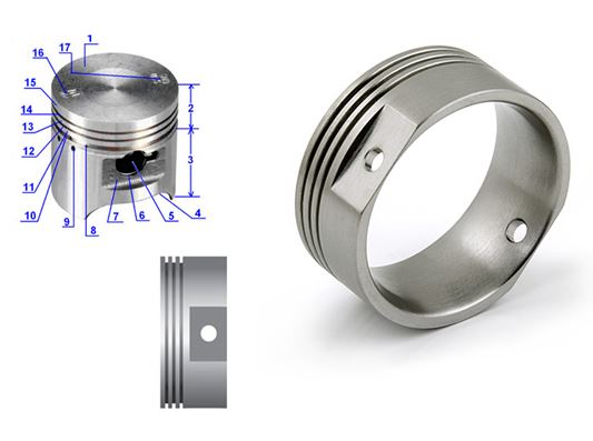 Creating a Custom Titanium Wedding Ring from Your Own Vision | Avant Garde Jewelry