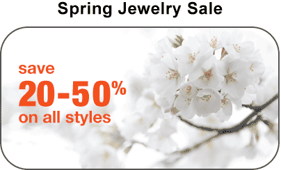 Titanium Rings Spring Sale. Shop today and save!
