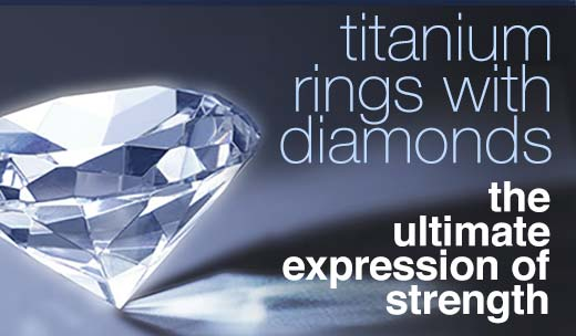add diamonds to your new titanium ring