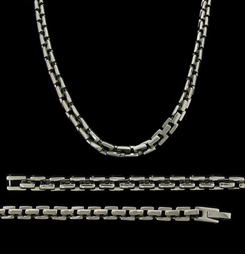Mens Titanium Chains Fine Titanium Jewelry For Men