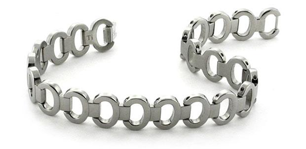 women's titanium bracelet
