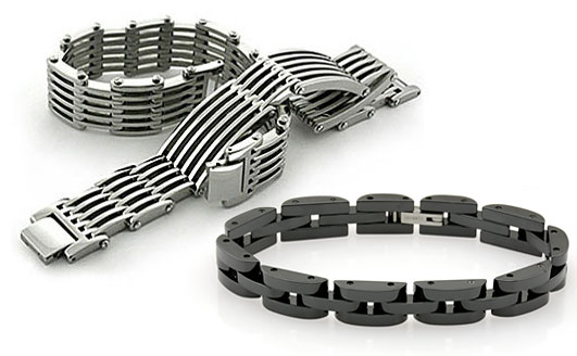 titanium bracelets by Avant-Garde Jewelry Co.