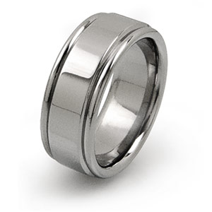 all titanium construction ring for active lifestyle