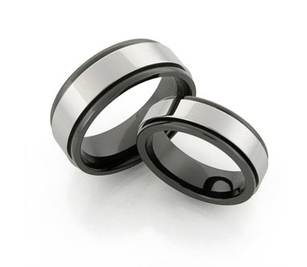 Amazingly durable Tungsten Carbide Rings from titaniumstyle.com